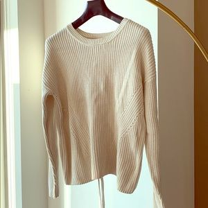 Never before worn Beige Lucky Brand Sweater